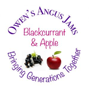 Owen's Angus Blackcurrant and Apple Jam