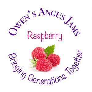 Owen's Angus Raspberry Jams