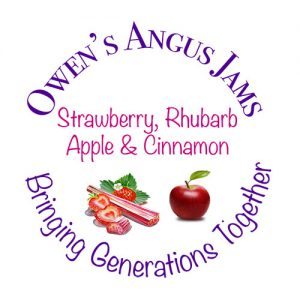 Owen's Angus Strawberry, Apple & Cinnamon Jam