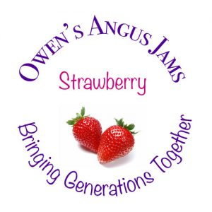 Owen's Angus Strawberry Jam