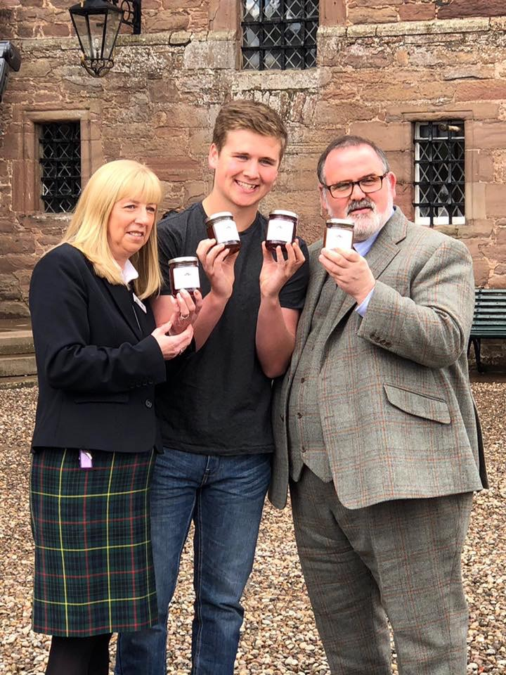 Owens Angus Jams at Glamis Castle